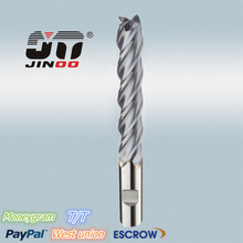 JINOO hot sale sharp tool 6 flutes carbide end mill coated 25mm