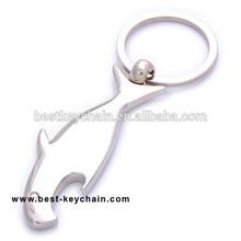 promotion gift bottle opener metal fish shaped keychain (BK11179)