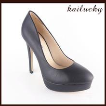 classy elegant ladies black nude dress shoes rubber sole