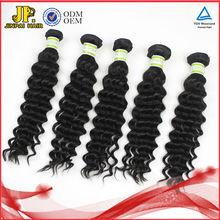 JP Hair Hot selling Real Tangle Free Virgin Malaysian Curly Hair Weft