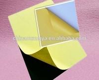 Hot melt glue adhesive PET/PVC sheet for photo album