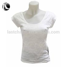 2015 ladies white casual shirt
