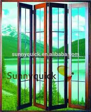 2014 latest design practical glass comfortable door for home