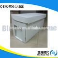 100% novo material pp corrugado/correx/coroplast caixa plástica colméias de abelhas