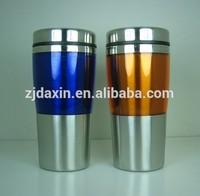 Stainless steel soup mug, plastic soup mug, cute soup mugs for promotional