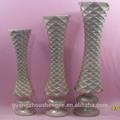 q071934 de metal de color florero de la decoración del hogar de altura jarrón de flores