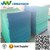 High density corrugated plastic layer pad for bottle