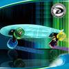 penny mini cruiser plastic skateboard,old school street longboard,