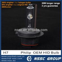 h7 motorcycle bi-xenon projector headlight lens