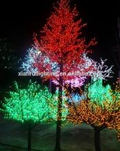 exterior lamp high brightness tree light solar garden led lights