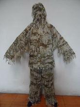 los hombres traje de camuflaje