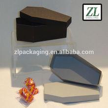 coffin shape gift box