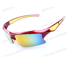 Professional custom acetate sunglasses outdoor sports glasses for basketball/football/volleyball/baseball frame