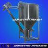 TPO regrind 1000kilos plastic mixer with dirt catcher functions