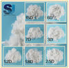 polyester toy stuffing materials with polyester fiber 1.2D to 15D
