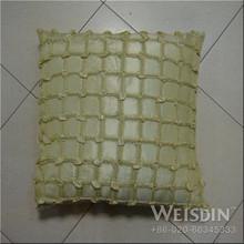 knitted Guangzhou bedding fashion hearte shaped cushion