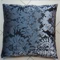 不織中国卸売印刷プレーンニットかぎ針編みの花のクッション