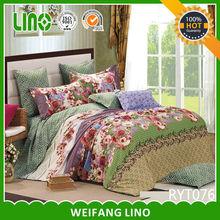 300 TC soft feeling like Egypt cotton microfiber bed sheets