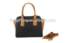 Hot Sale French Designer Women's Nylon Handbag Woman OEM Pure Leather Bag