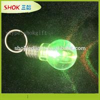 2014 China factory design flashing mini led flashlight world cup keychain