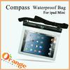 For ipad Mini waterproof bag for mobile phone PVC waterproof bag Swimming Dry IPX8 waterproof bag