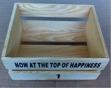 Recyclable Feature and Wood Material wooden crates wholesale