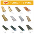 venta al por mayor hongzhi patrones de moldeo de la placa base de piedra frontera de molduras de corona de granito para la venta