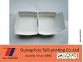 Impressos de papel dobrável caixa de hambúrguer, folding caixa de hambúrguer, tlp140711.03