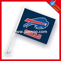 custom country plastic car window flag poles