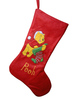 durable fashion style christmas velvet sock bag for promotion