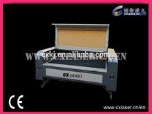 CO2 Laser Wood Cutting Machine CX9060 Fast Continuous Curve Cutting
