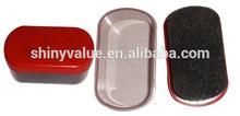 waxed disposable shoe polish sponge