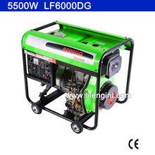 5000W rated power diesel generator LF6000DG