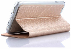 Wholesale PU leather case for iPhone 6 wallet leather case with card slot
