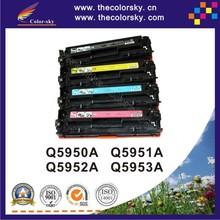 (CS-H5950-5953) toner laserjet printer laser cartridge for hp Q 5950A 5951A 5952A 5953A q5950 - q5953 5950 - 5953 50 - 53
