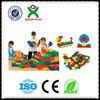 Challenging plastic building blocks toys/soft plastic building blocks/kids plastic toysQX-188A