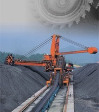 DQLZ2000/2000.50Stacker Reclaimer for Coal Handling Systemand Iron-steel plant, China manufacturer