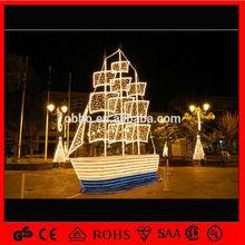 2014 Christmas Decoration sailing ship holiday decoration