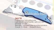 Aluminum Handle Folding Liner-Locked Utility Knife