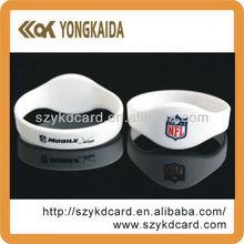 rubber bracelet 13.56mhz 15693 nfc bracelet I CODE 2