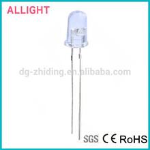 5mm Super White (30 Deg.) resistor LED 5000mcd