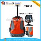Hot popular eminent laptop trolley backpack travel bag manufacturer