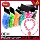 New Rainbow Color Fashion Elastic Loom Bands