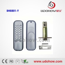 Top security mechanical locks , rfid digital door lock without electric device(DH8801-Y)