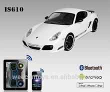 hot car iOS Android bluetooth control Porsche Cayman 1 16 brand car color car luxury cars
