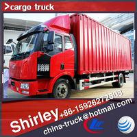4*2 China FAW cargo truck 165HP truck body Favorites Compare 6.5m dry cargo box truck ChengLi Special Automobile Co., Ltd