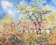 Oil painting,Monet