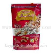 CUSTOM plastic bag with slider/zipper sliders bags/plastic slider bags for hot chicken