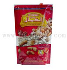 CUSTOM plastic bag with slider/zipper sliders bags/plastic slider bags for hot chicken