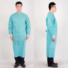 Green hospital surgical cloth/gown for European market